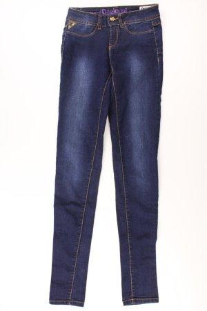 Desigual Jeans skinny bleu-bleu fluo-bleu foncé-bleu azur coton
