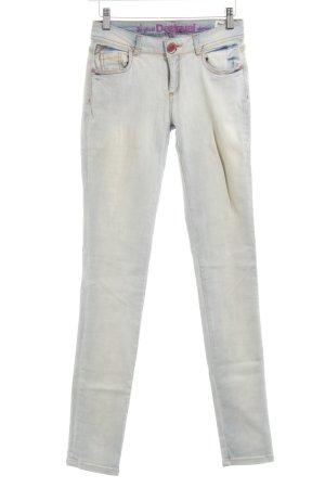 Desigual Slim Jeans wollweiß Casual-Look