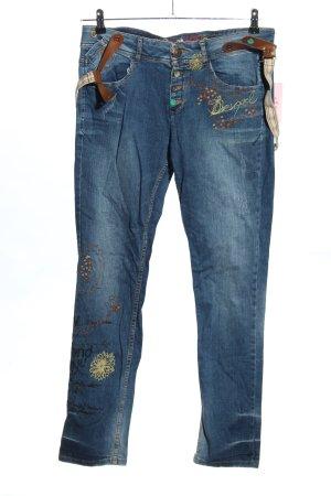 Desigual Slim Jeans mehrfarbig Casual-Look