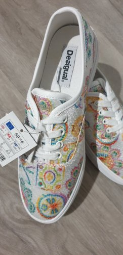 Desigual Sneaker slip-on bianco