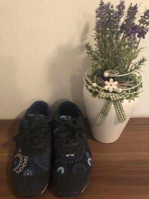 Desigual Sneakers Blau-Bunt/Gr.37