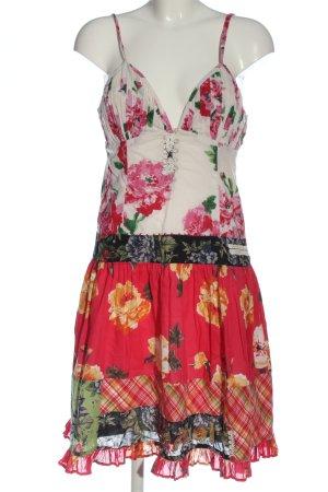 Desigual Vestido de Verano estampado con diseño abstracto elegante