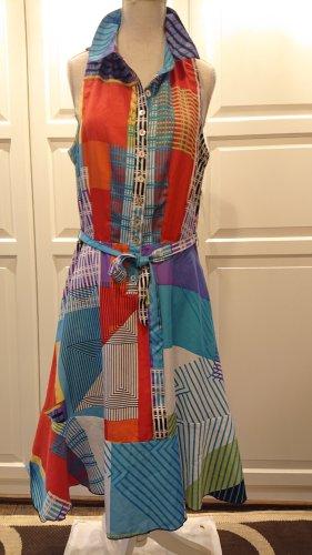 Desigual Robe chemisier multicolore