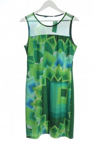 Desigual Summer Dress green graphic pattern casual look