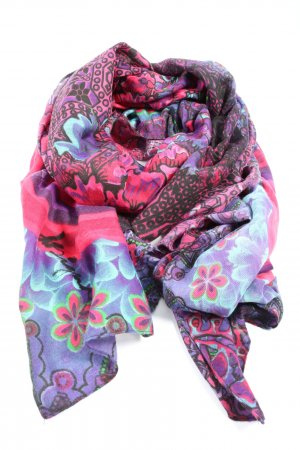 Desigual Summer Scarf abstract pattern casual look