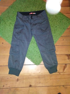 Desigual Pantalon 3/4 gris