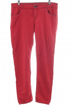 Desigual Stoffhose rot Casual-Look