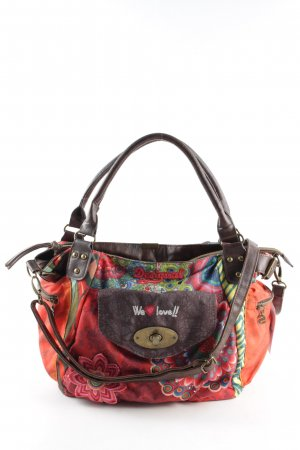 Desigual Stofftasche abstraktes Muster Casual-Look