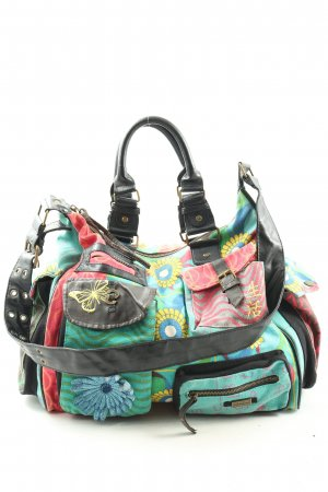 Desigual Stofftasche Mustermix Casual-Look