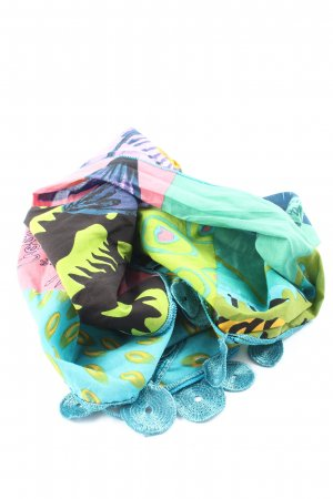 Desigual Stola abstract patroon casual uitstraling