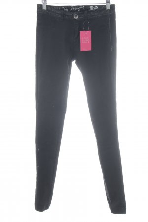 Desigual Stretch Jeans schwarz Casual-Look
