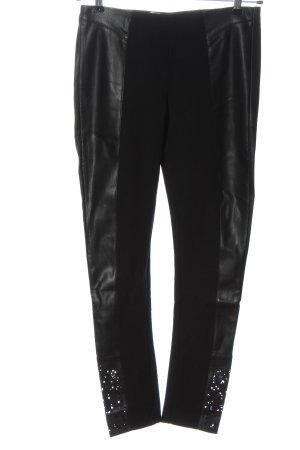 Desigual Stretch Trousers black casual look