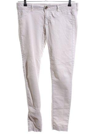 Desigual Pantalone elasticizzato bianco stile casual
