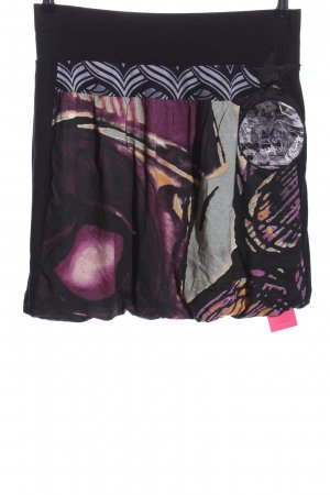 Desigual Stretchrock Allover-Druck Casual-Look
