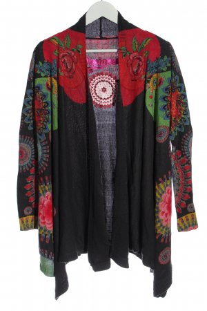 Desigual Knitted Cardigan abstract pattern casual look