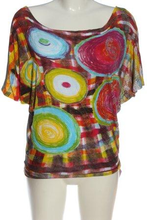 Desigual T-shirts en mailles tricotées imprimé avec thème style décontracté
