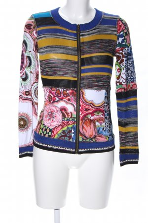 Desigual Sweatjacke Blumenmuster Business-Look
