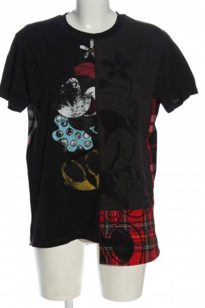 Desigual T-Shirt abstraktes Muster Casual-Look