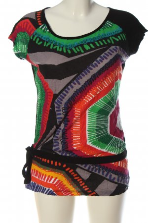 Desigual Camiseta estampado con diseño abstracto look casual