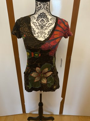 Desigual Batik Shirt multicolored cotton