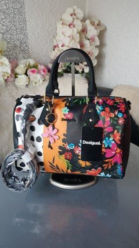 Desigual Tasche Carmela Bowling Bag NEU mit Etikett Schultergurt Anhänger