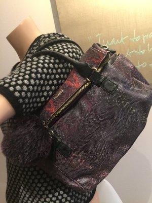 Desigual Tasche mit Bommel mehrfarbig Handtasche Damen