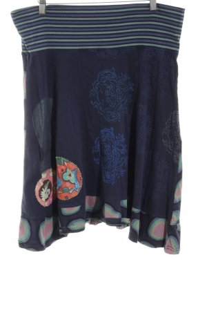 Desigual Pinafore skirt mixed pattern casual look