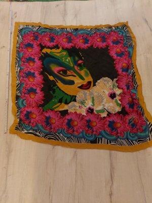 Desigual Châle au tricot multicolore