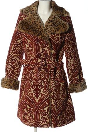 Desigual Manteau mi-saison imprimé allover style extravagant