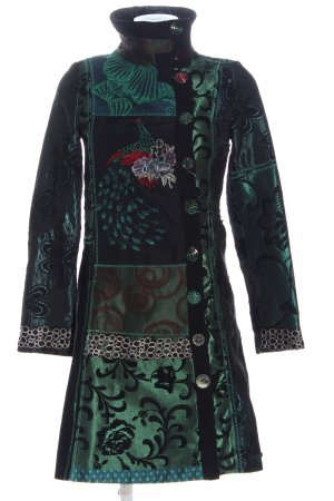 Desigual Between-Seasons-Coat allover print casual look