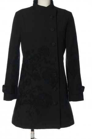 Desigual Between-Seasons-Coat black casual look