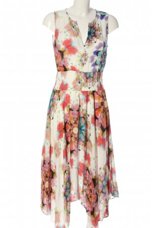 Desigual High Low Dress abstract pattern casual look