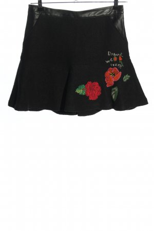 Desigual Flounce Skirt black casual look