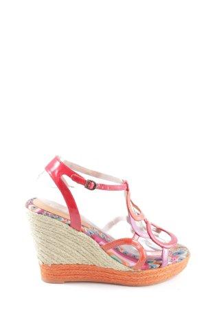 Desigual Wedges Sandaletten mehrfarbig Casual-Look