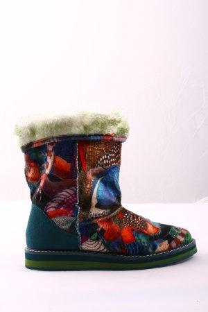 Desigual Winter Booties themed print elegant