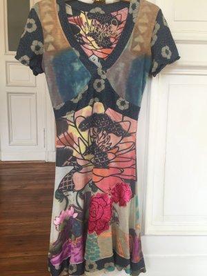 Desigual A Line Dress multicolored viscose