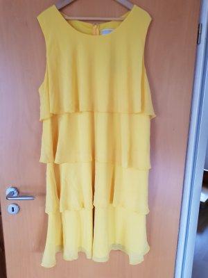 Guido Maria Kretschmer Chiffon Dress yellow