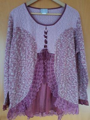 Fair Lady Crewneck Sweater purple-lilac