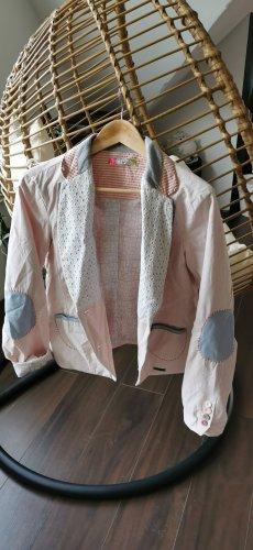 desingual Jersey Blazer pink-light pink