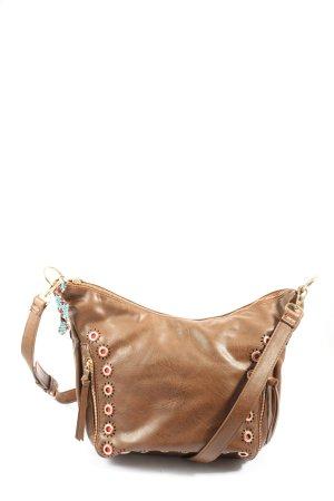 desingual Crossbody bag brown casual look