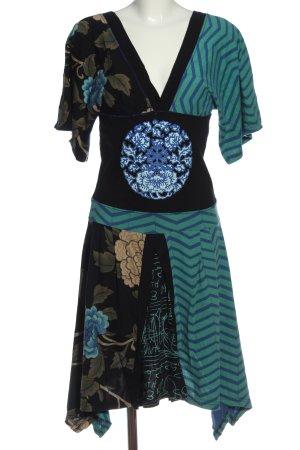 desiqual Cut Out Dress flower pattern casual look