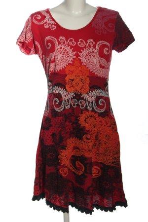 desiqual Sukienka boho Abstrakcyjny wzór W stylu casual