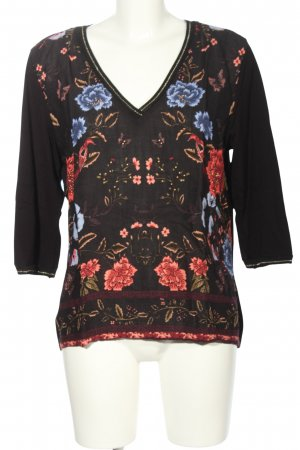 desiqual Blouse Shirt flower pattern casual look