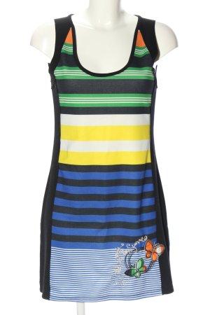 desiqual Stretch Dress striped pattern casual look