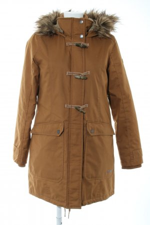 desires Parka brown striped pattern casual look