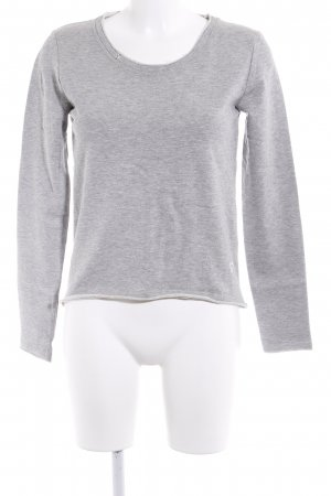 desires Sweatshirt hellgrau meliert Casual-Look