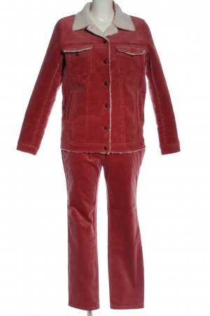 desires Woven Twin Set red casual look