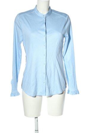 Desoto Langarmhemd blau Elegant