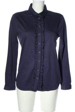 Desoto Langarmhemd blau Casual-Look