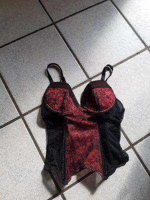 Censored Lingerie Set black-red